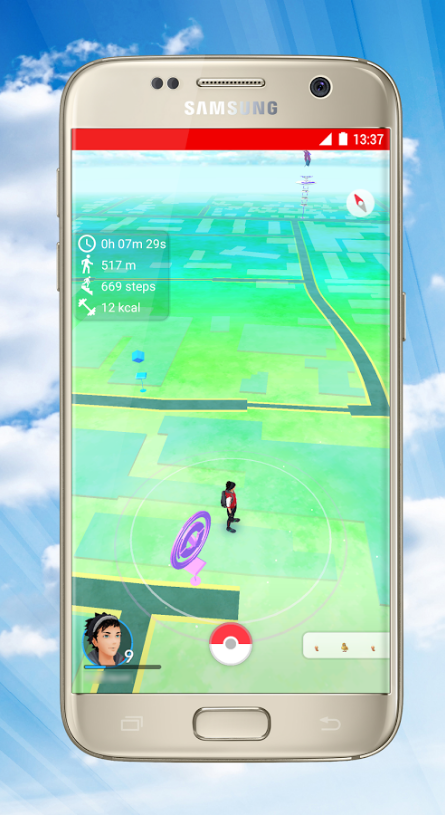 PokeFit Pokemon Go app