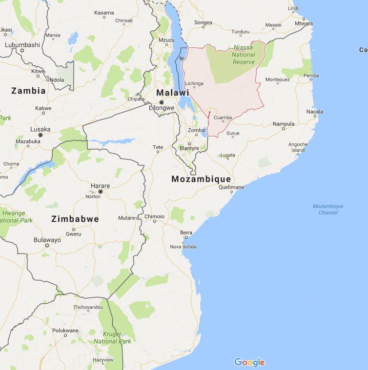 Niassa Province in Mozambique
