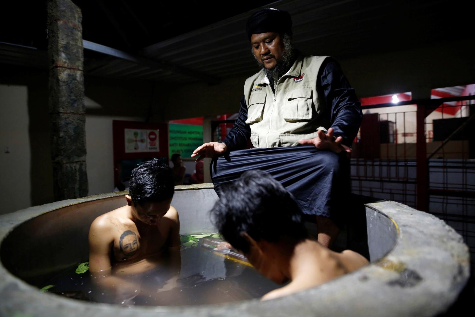 Indonesia drug rehabilitation
