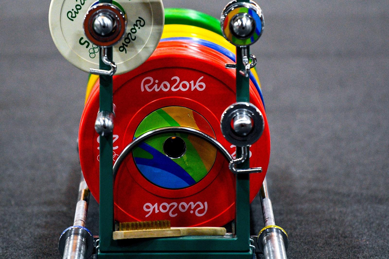 Rio 2016 weightlifting