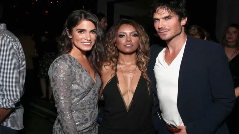 Kat Graham calls Vampire Diaries co-star Ian Somerhalder and Nikki Reed a 'perfect match'