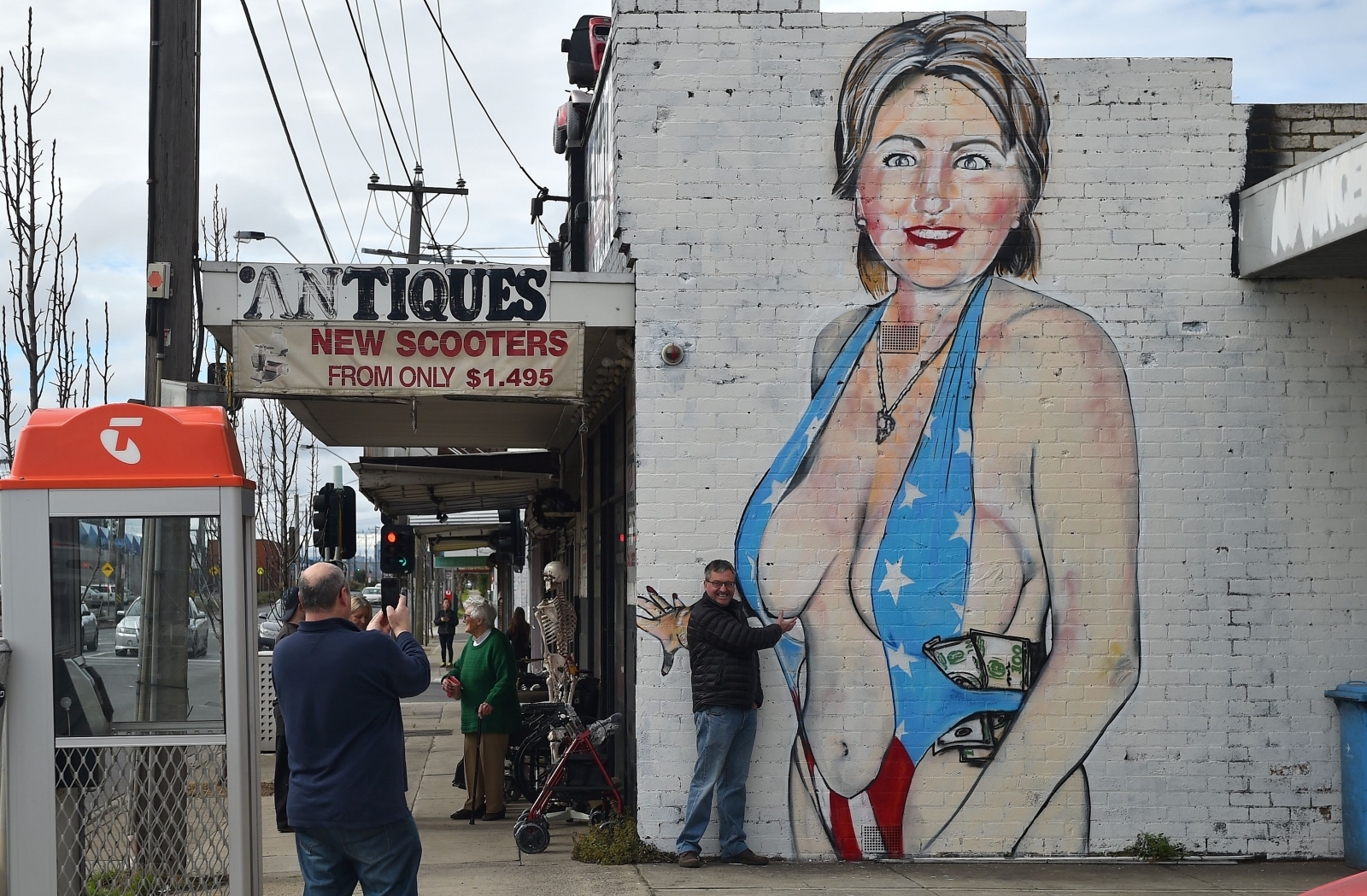 Hillary Clinton mural