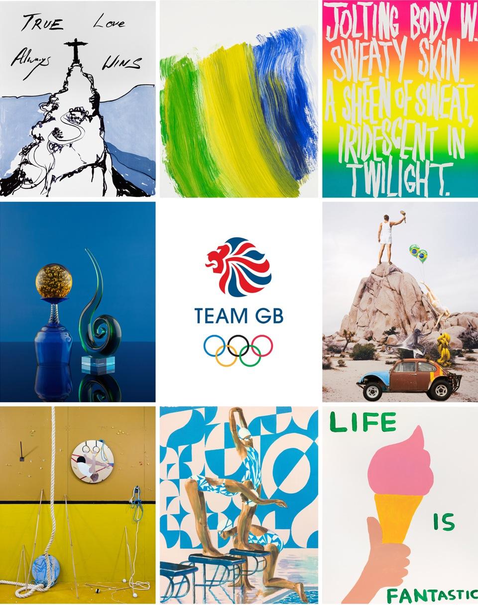 official Rio Olympics art