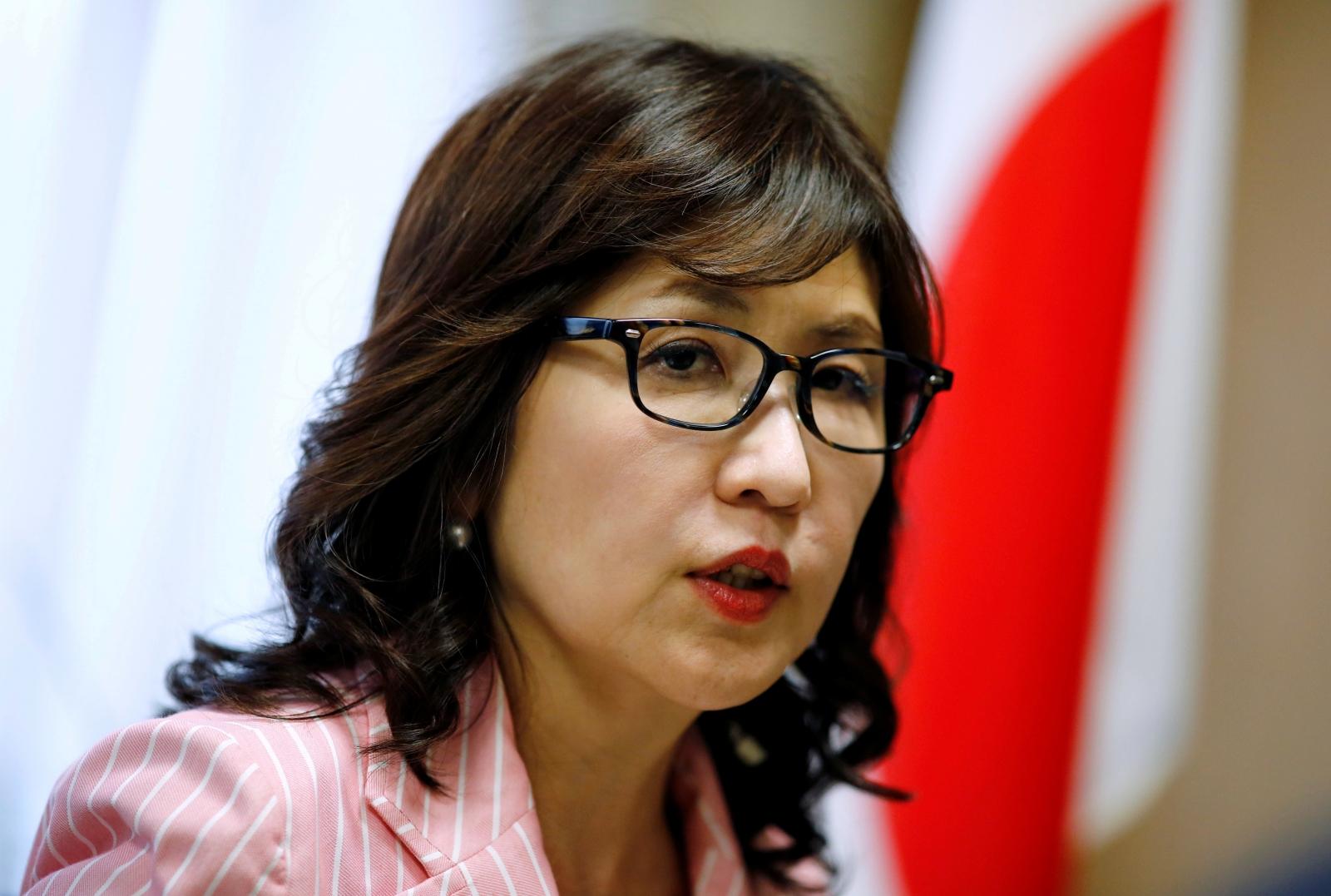 Japan's Tomomi Inada