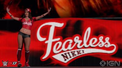 WWE 2K17 Nikki Bella