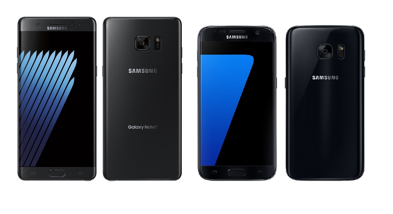 Samsung Galaxy Note 7 vs Galaxy S7