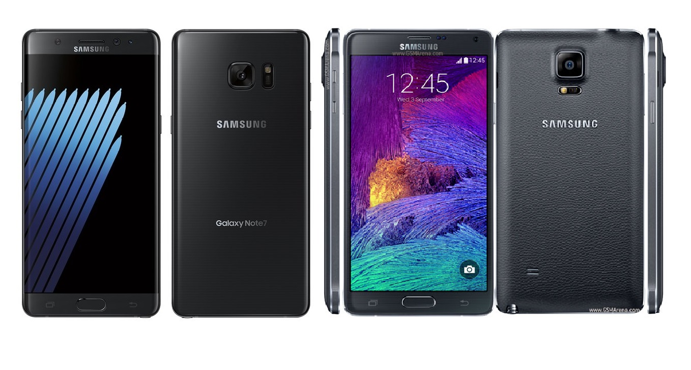 Samsung Galaxy Note 7 vs Galaxy Note4
