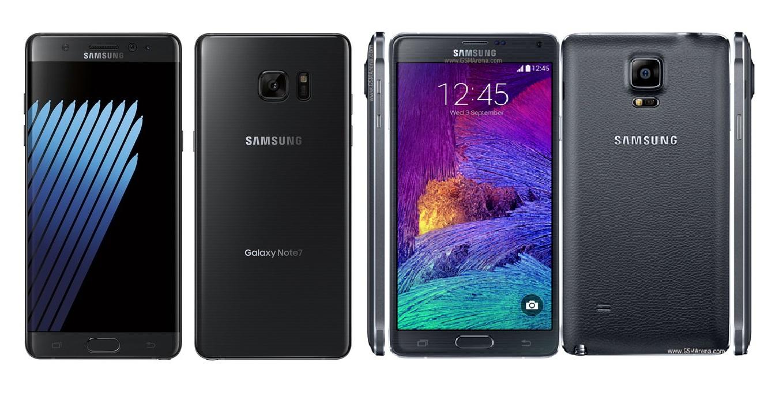 Samsung Galaxy Note 7 vs Galaxy Note4