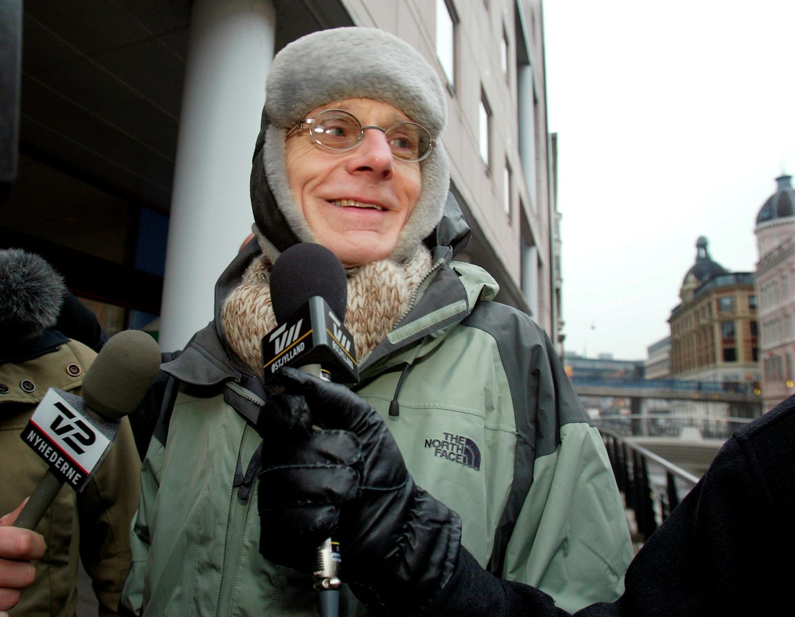 Mogens Amdi Petersen is pictured in Aarhus, Denmark