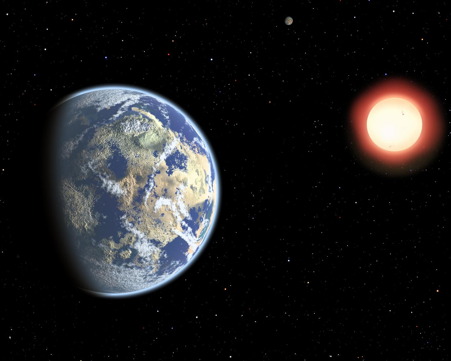 red dwarf earth like planet