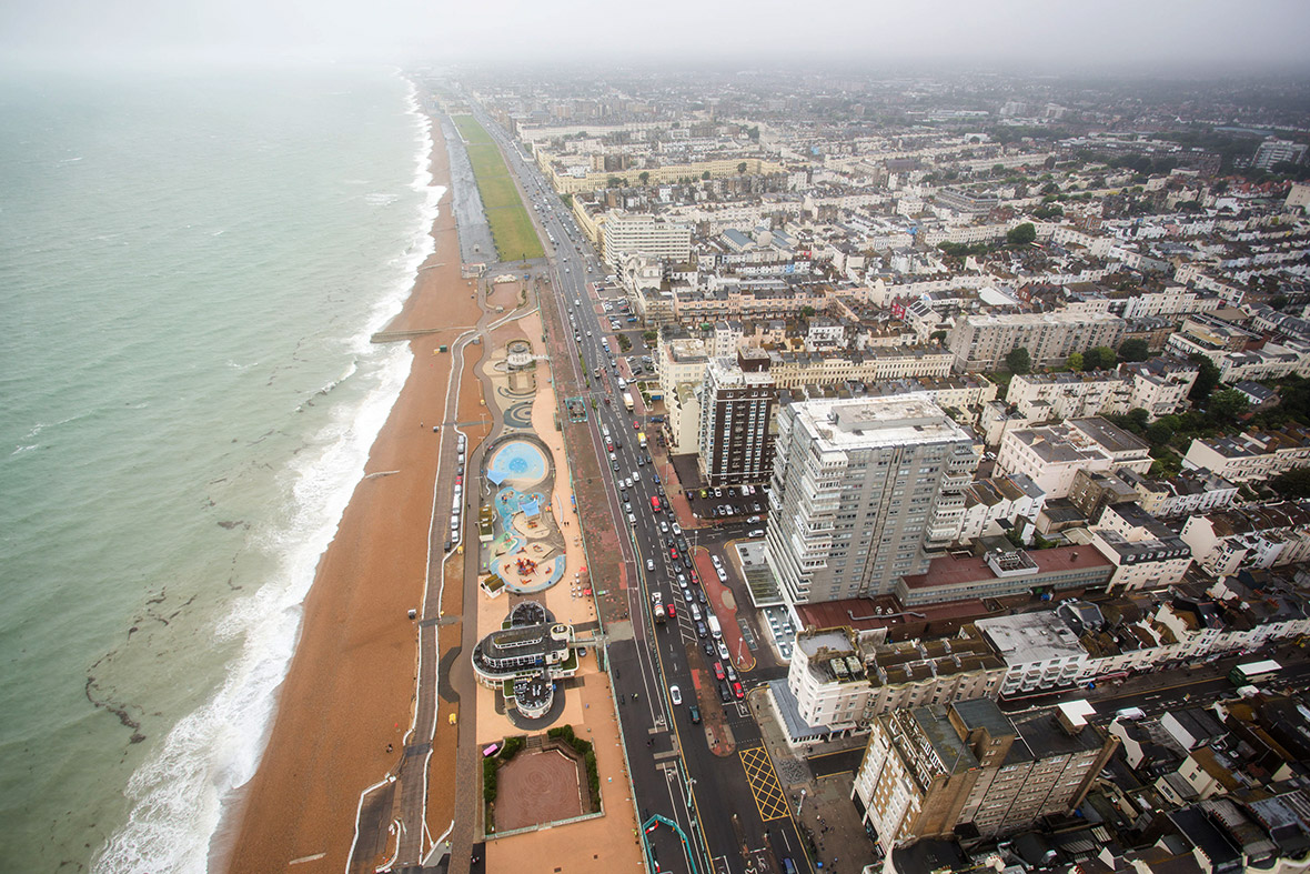 Brighton i360 observation tower