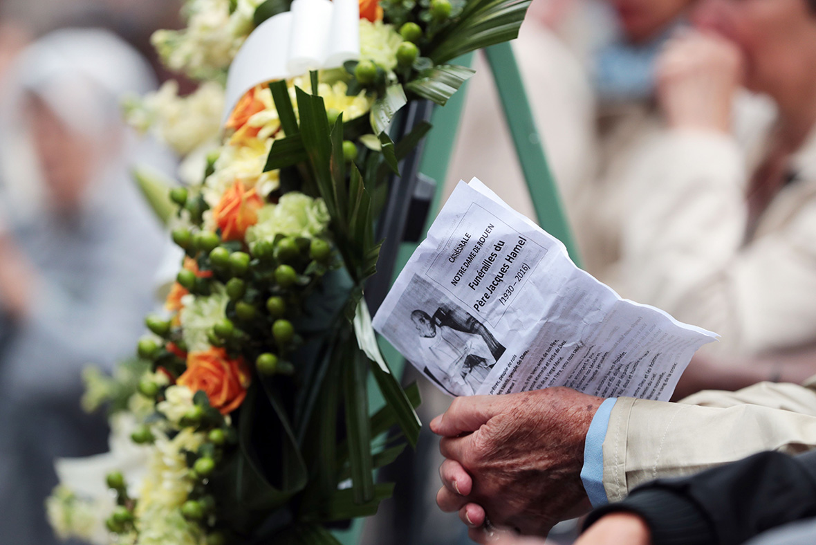 Jacques Hamel Funeral Thousands Attend Mass At Rouen Cathedral For
