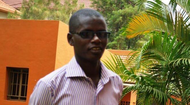Jean Bigirimana, journalist at Iwacu