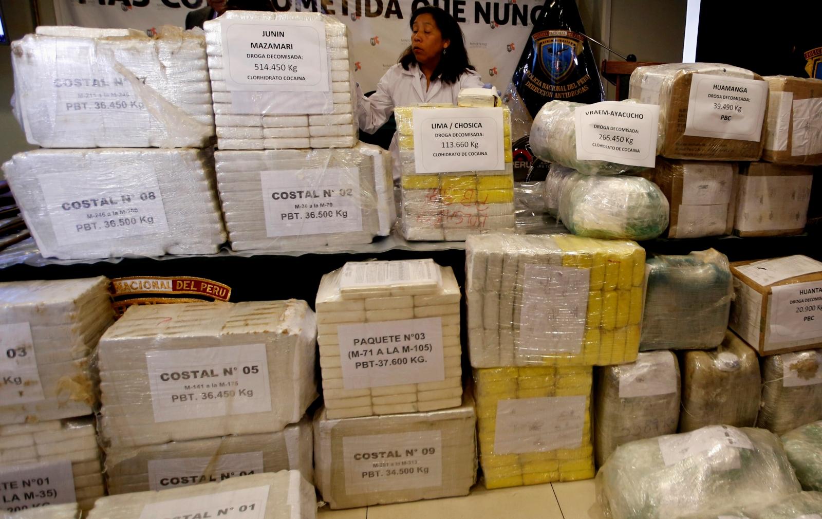 Peru drug seizure