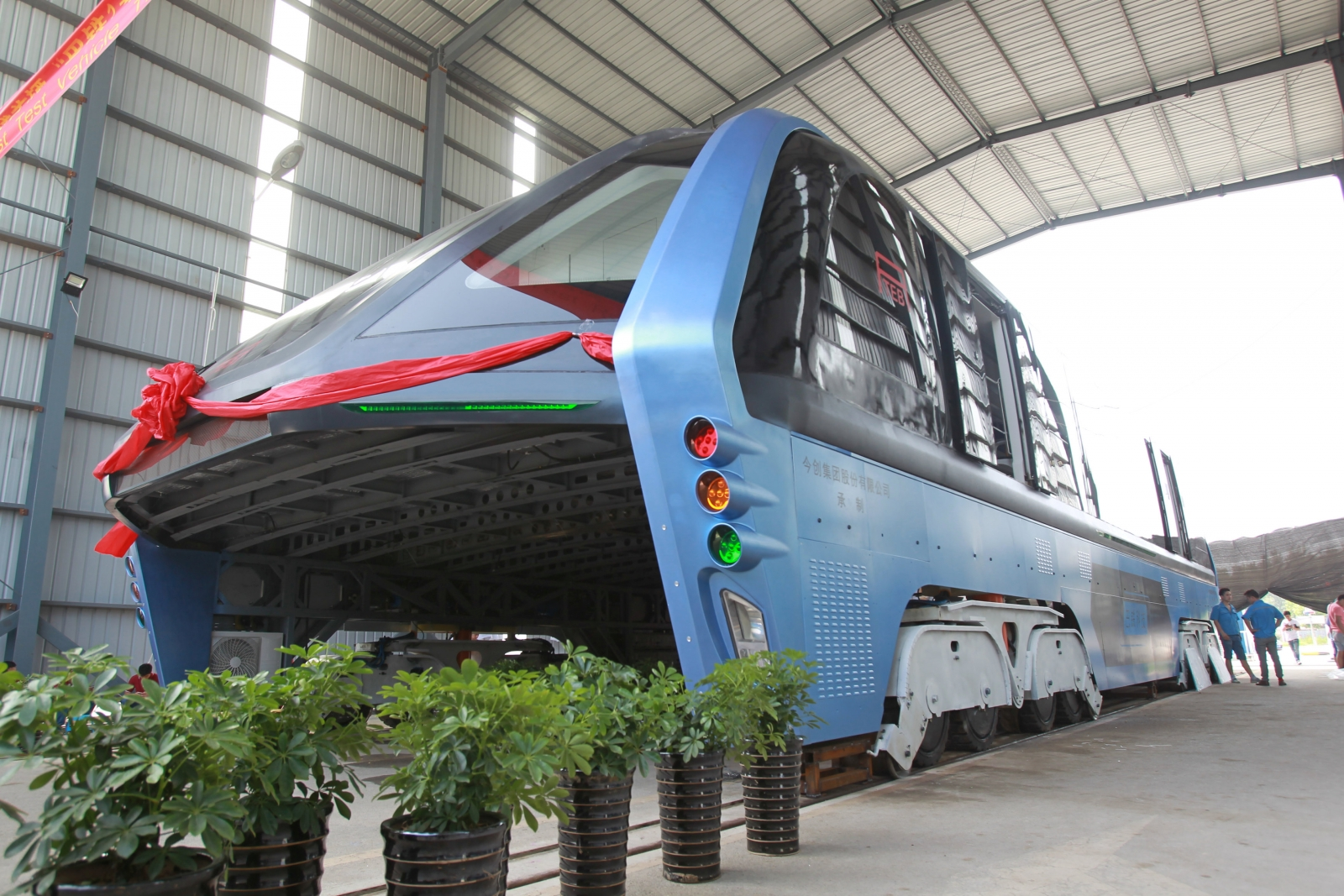 Transit Elevated Bus (TEB-1)