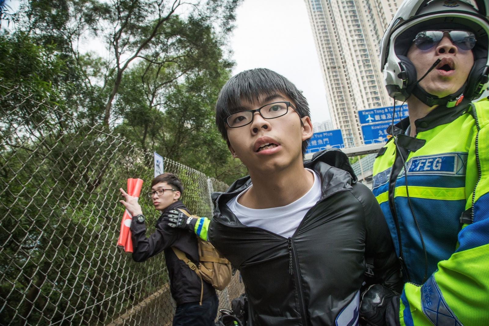 Hong Kong student leader Joshua Wong
