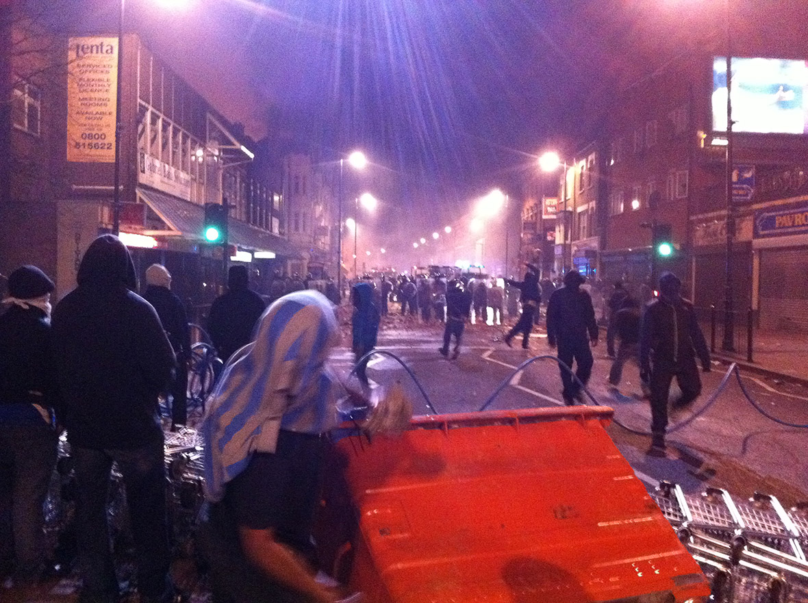 London riots 2011 anniversary