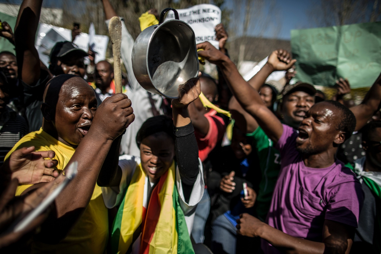 Zimbabwe protests