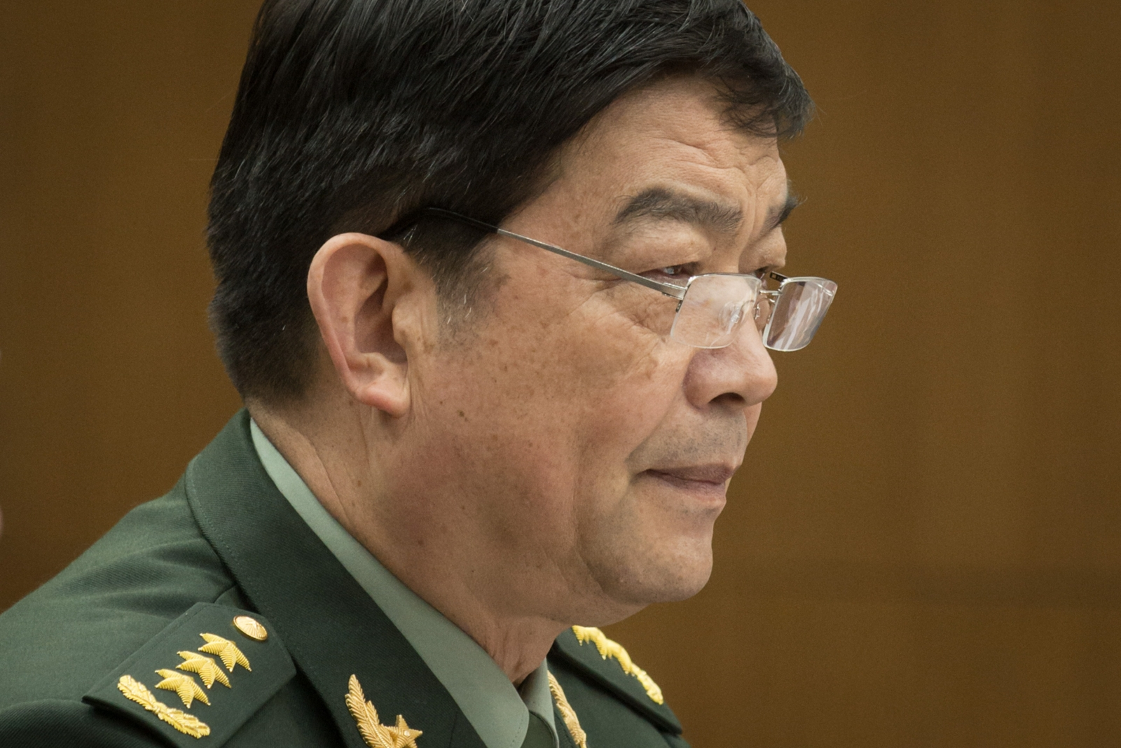 China's Defense Minister Chang Wanquan