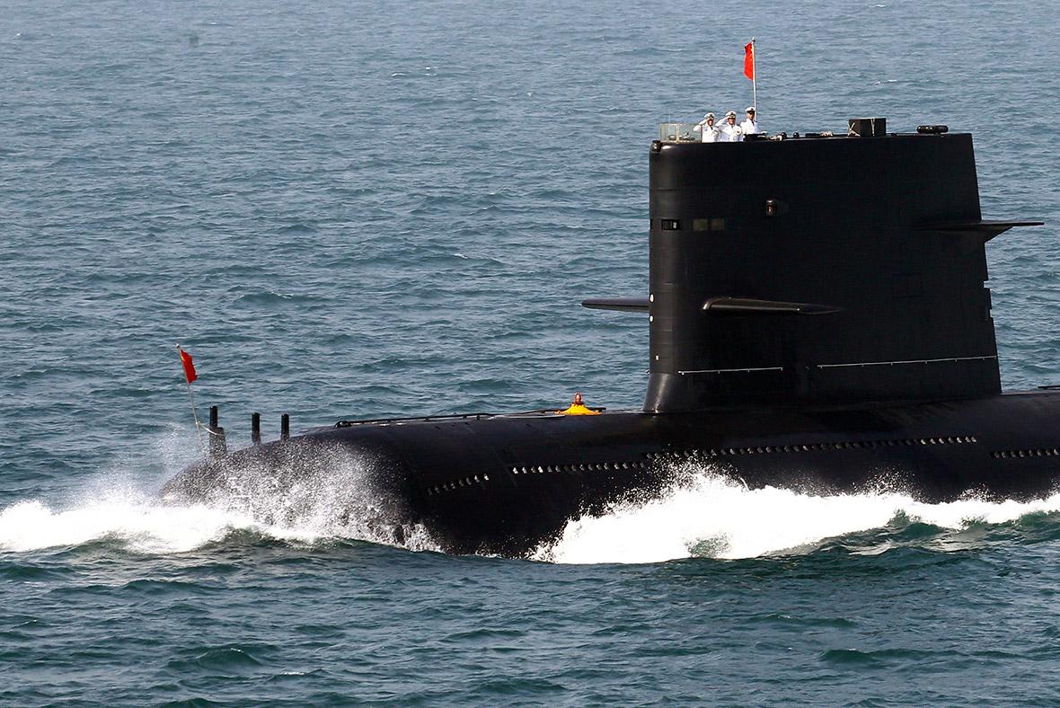 China Navy warship war ship