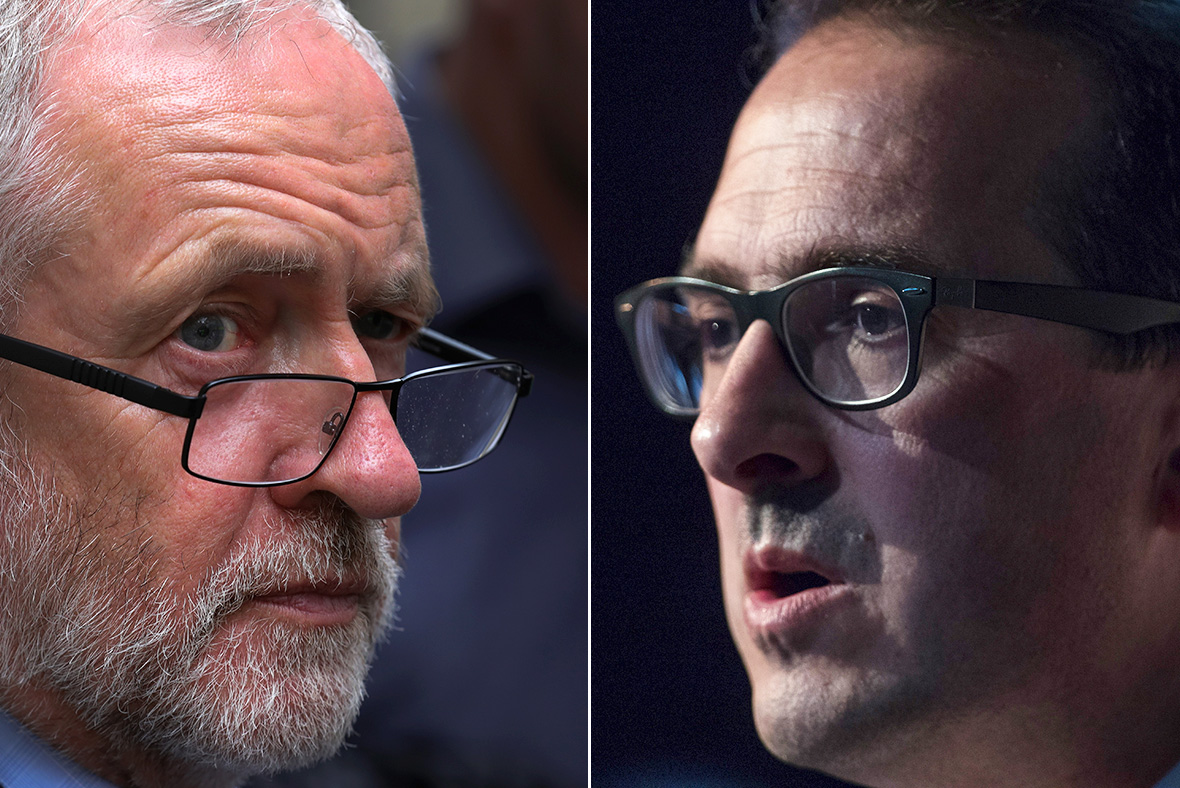 Jeremy Corbyn and Owen Smith clash in bitter Labour leadership hustings