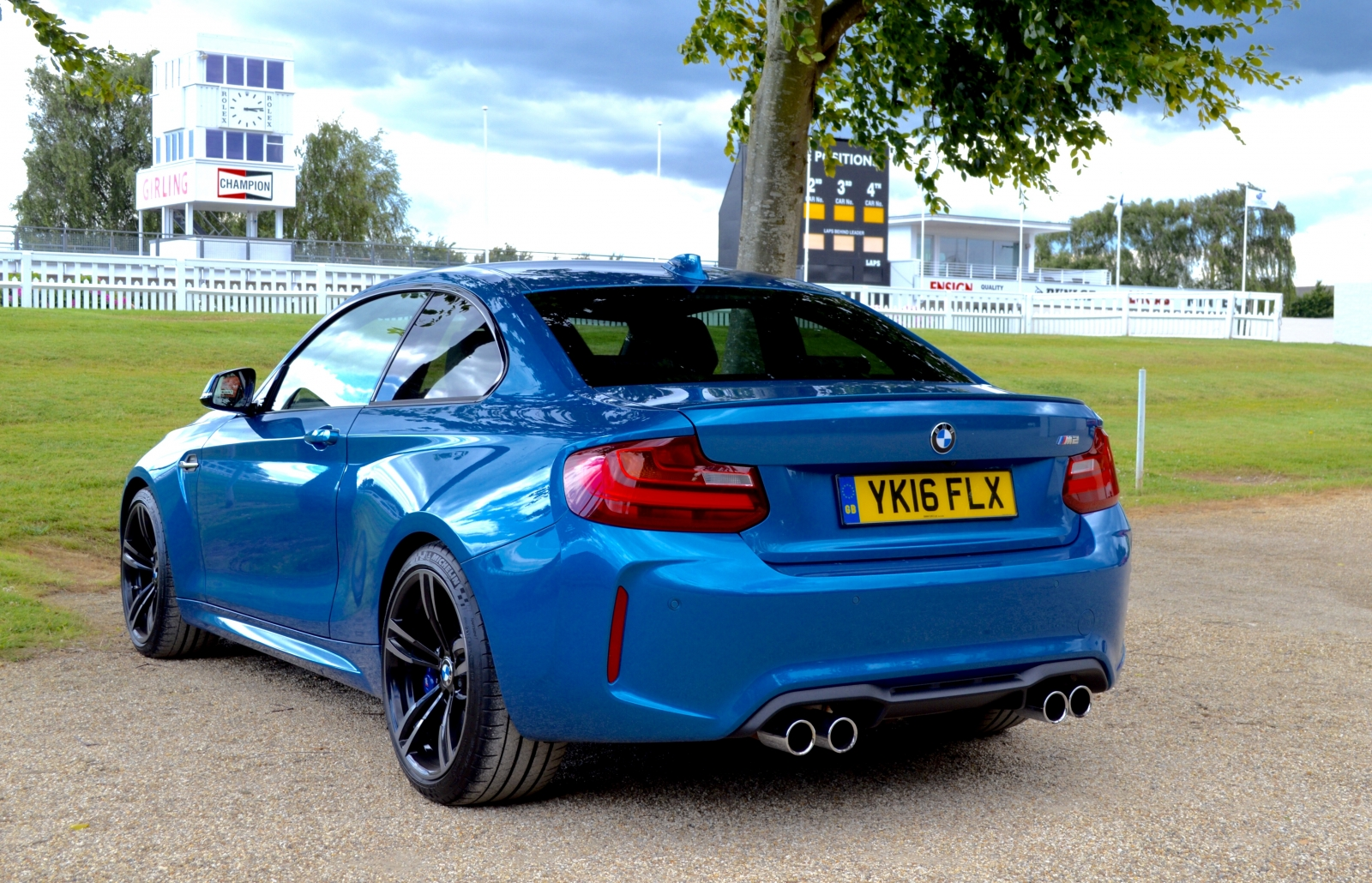 BMW M2 at Goodwood