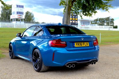 BMW M2 at Goodwood