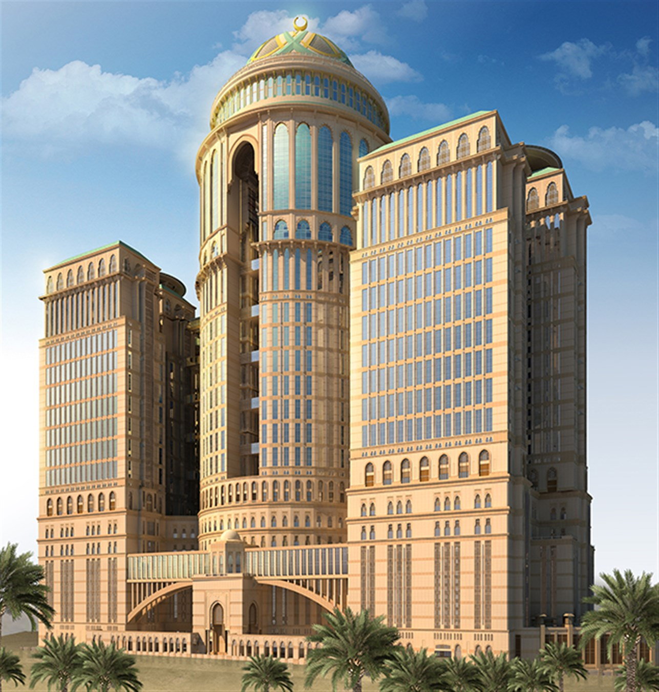 Abraj Kudai hotel in Mecca