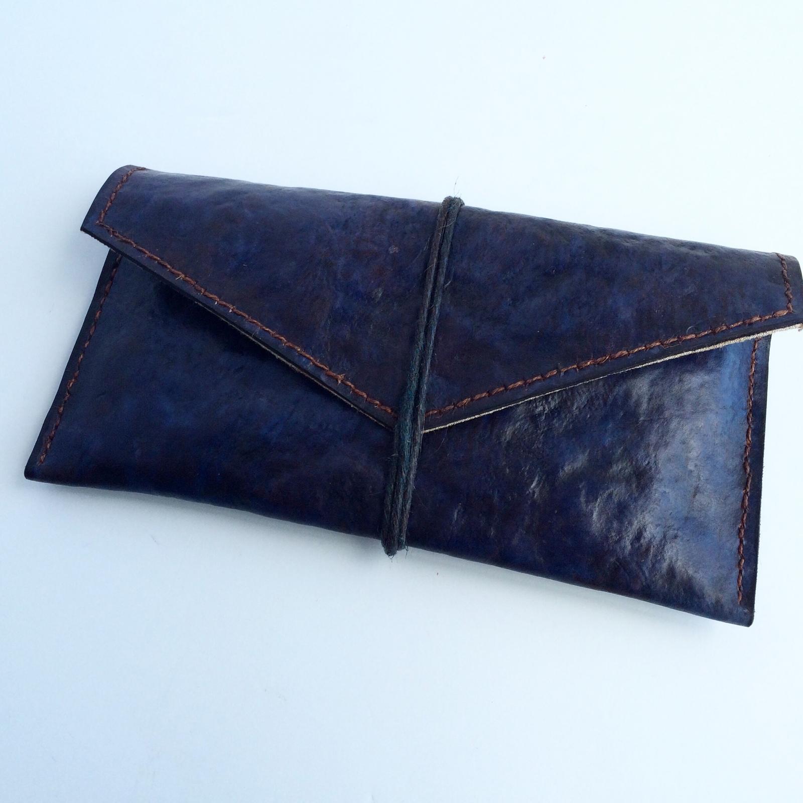 Mycoworks mushroom leather valise