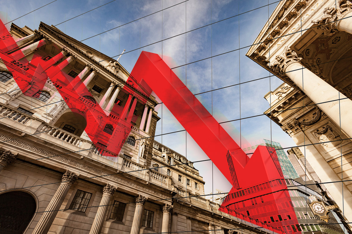 Bank of England interest rate down