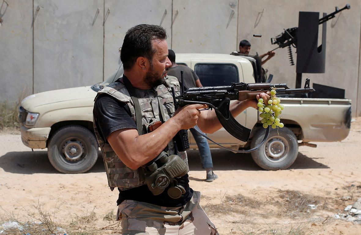 Battle for Sirte Libya