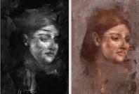 edgar degas portrait of a woman