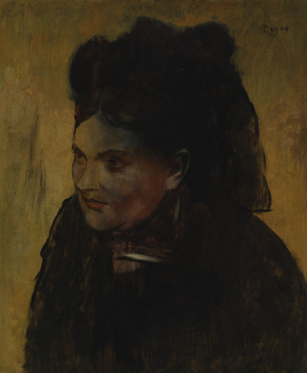 Edgar Degas Portrait of a Woman