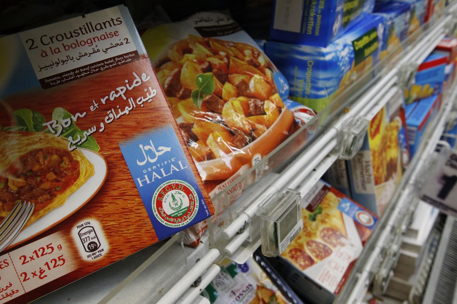 halal supermarket in France