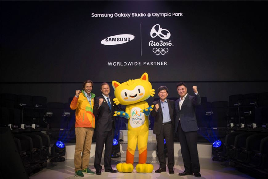 Samsung VR experience for 2016 Olympic Games