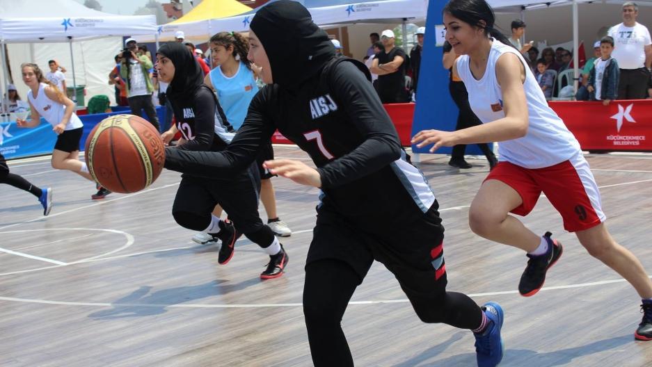 Basketball hijabs