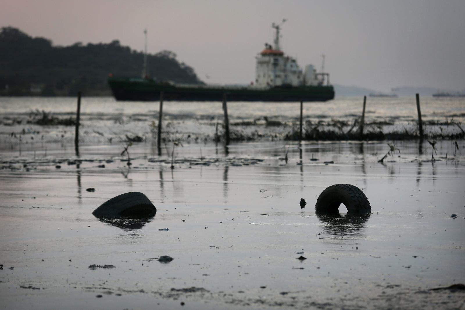 Rio water polution