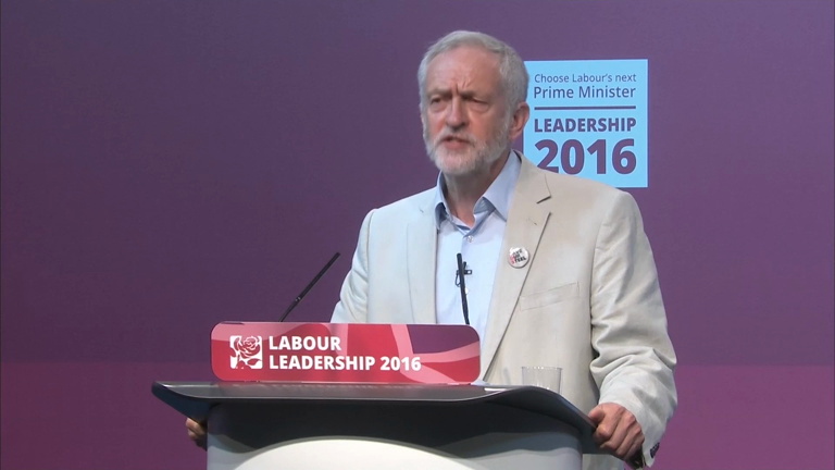 Jeremy Corbyn and Owen Smith clash during Labour leadership hustings