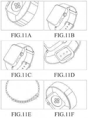 Samsung patent Apple Watch