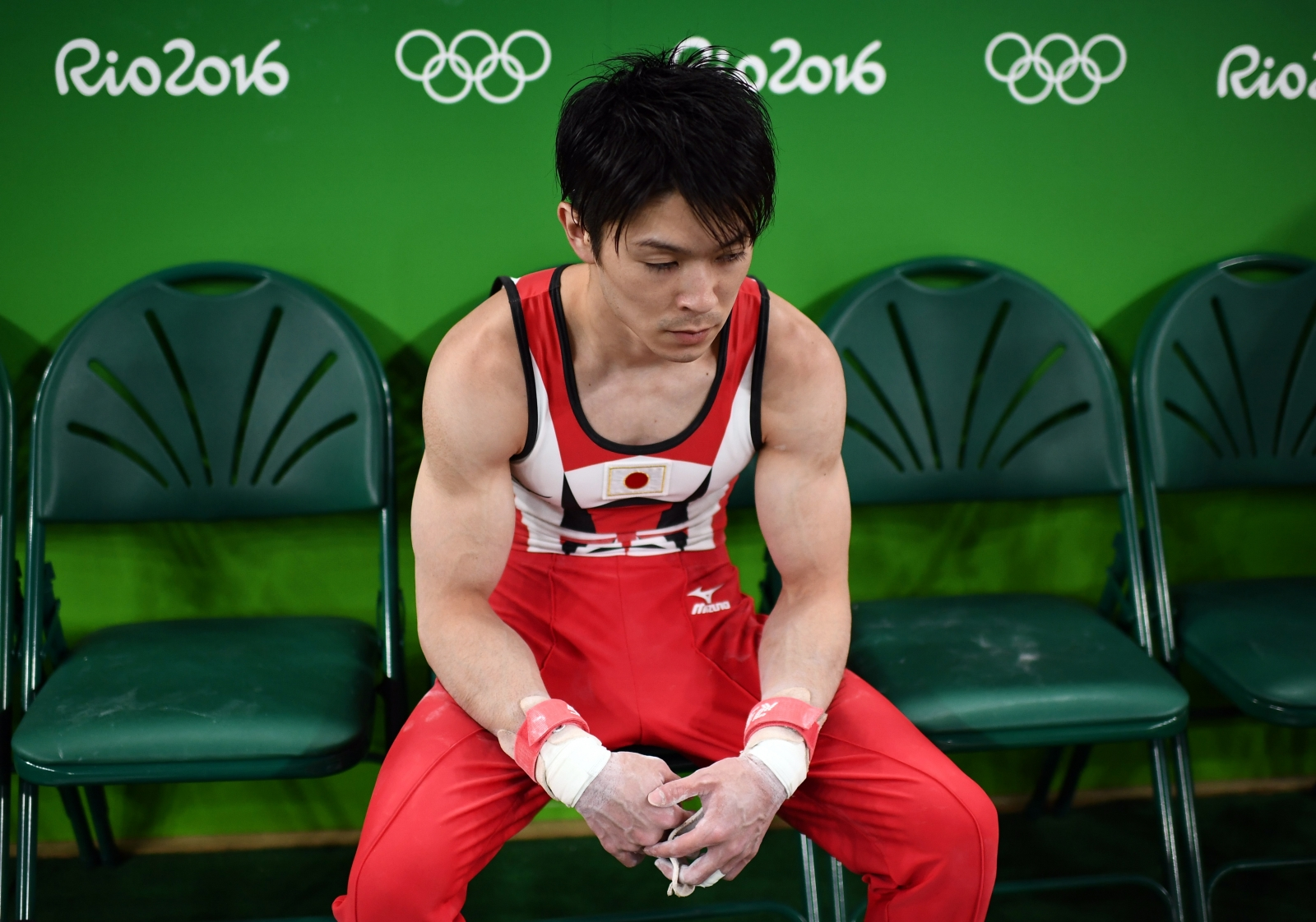 Japanese Men's Gymnastics Olympic champion Kohei Uchimura