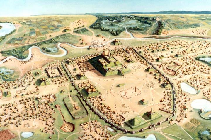 Cahokia beaded burial