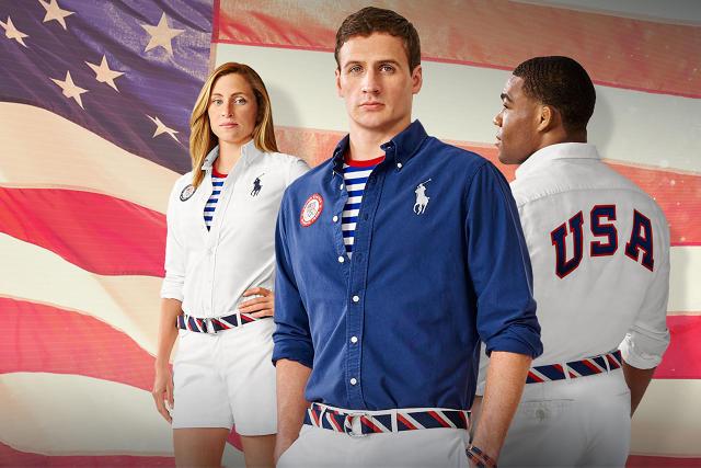 official Rio Olympics fashion