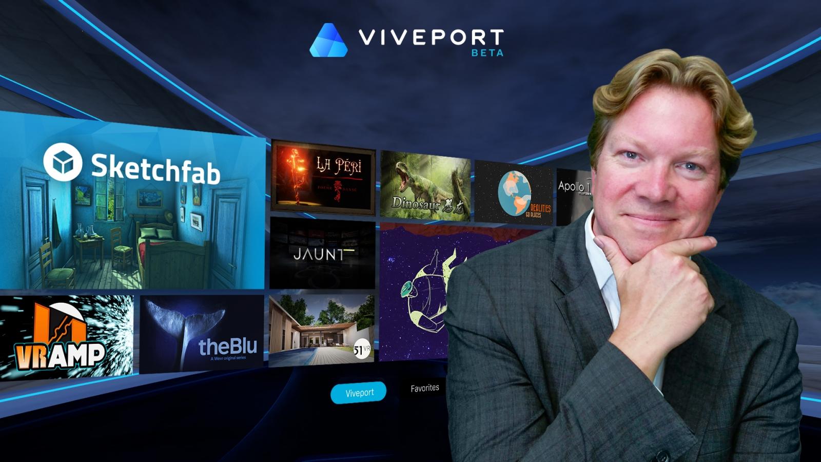 HTC Viveport beta