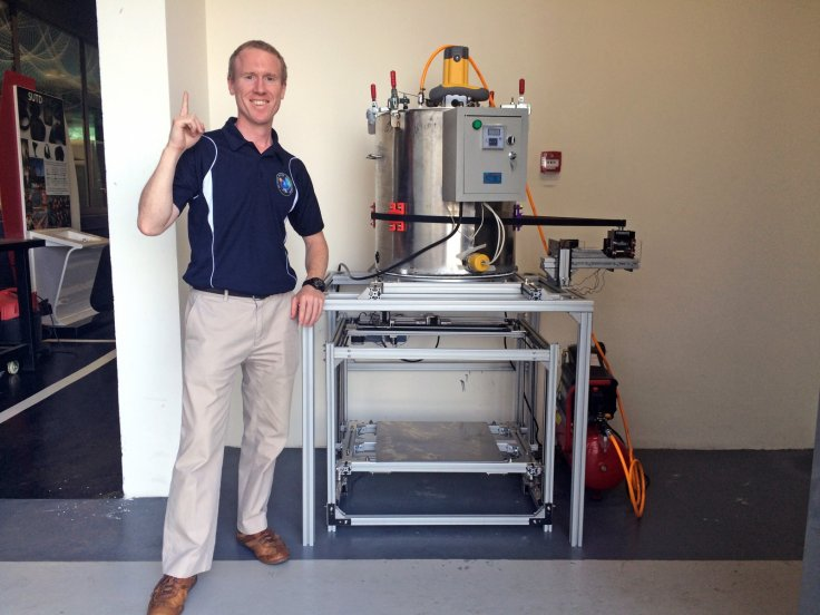 Adam Gilmour and the fuel 3D printer