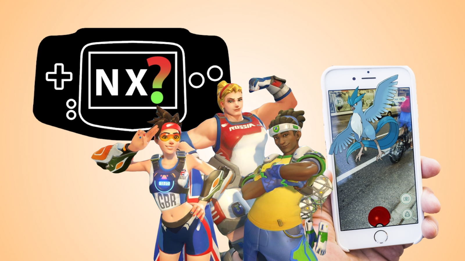 Video game news round-up: Nintendo NX, Pokemon Go and Overwatch