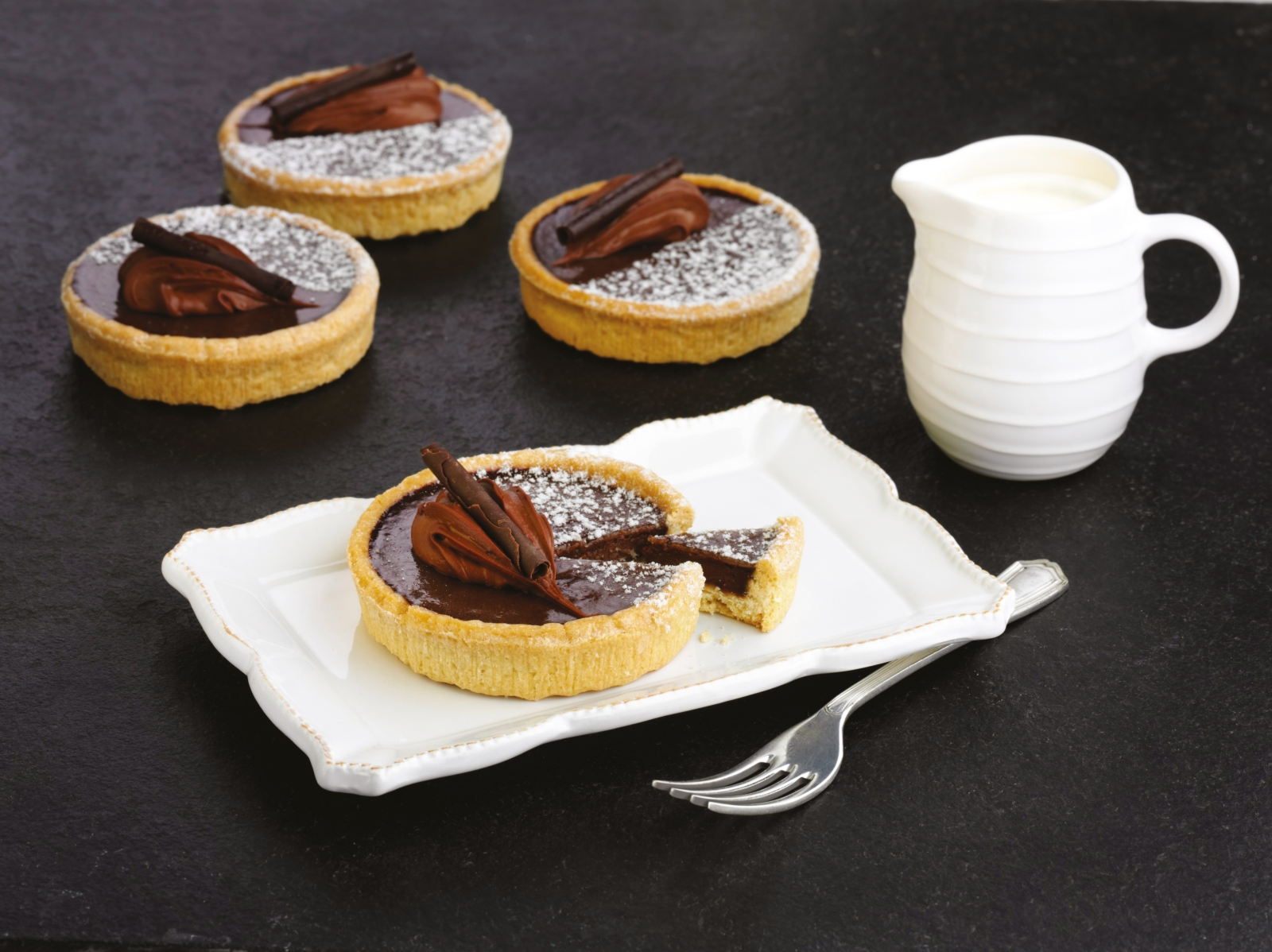 Belgian Choc Tarts by Real Good Food