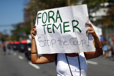 rio olympic protests