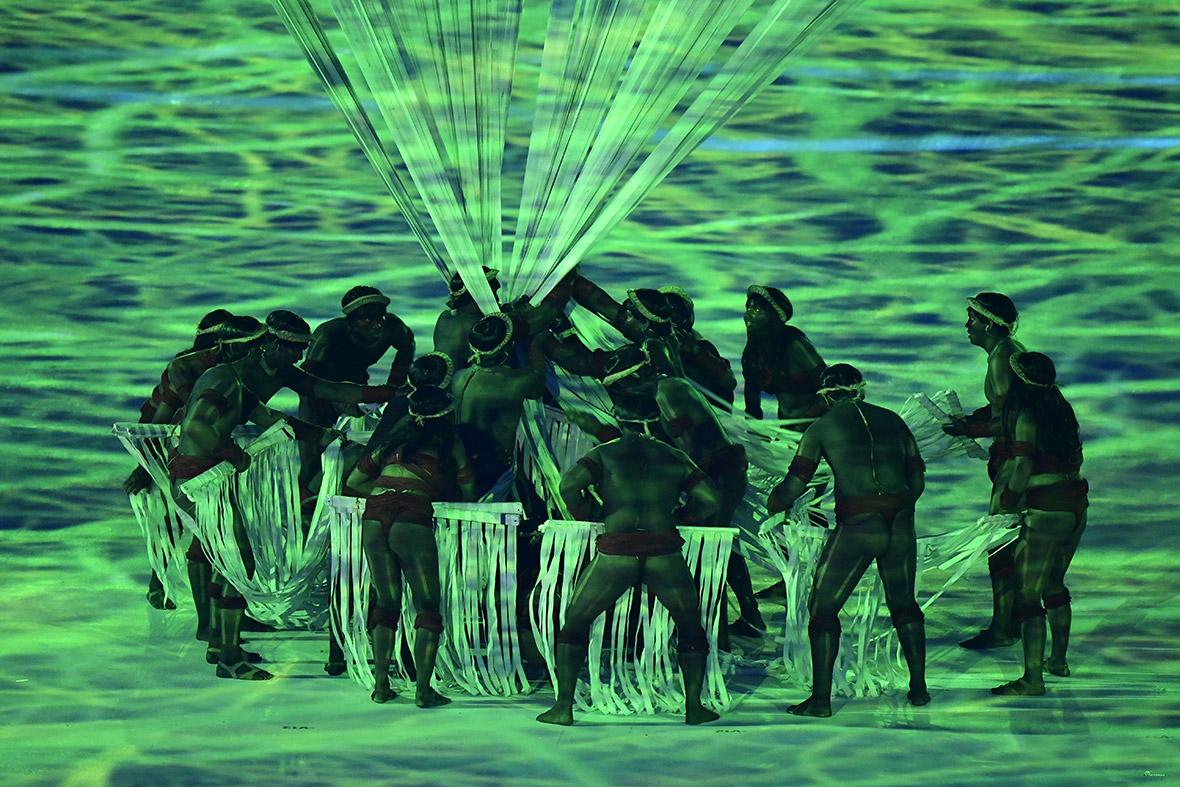 Rio 2016 Olympic opening ceremony