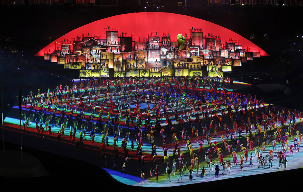 Rio 2016 Olympic opening ceremony