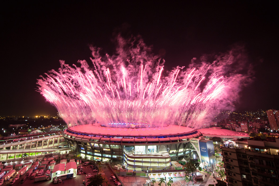 Rio 2016 Olympics: Spectacular opening ceremony kicks off games